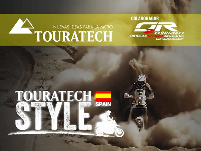 TOURATECH STYLE y O2Riders
